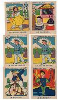 Histoire Des Jeux  Atelier Louis Chambrelent Paris 6 Cartes Nrs 1-6 (9,5x7,5 Cm) - Jeux Et Jouets