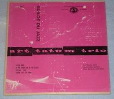 Art Tatum Trio 457 Flying Home (guilde Du Jazz J.701 FR) VG++ VG - Jazz