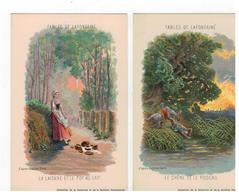 FABLES DE LAFONTAINE D'après Gustave Doré  2 Kaarten - Contes, Fables & Légendes