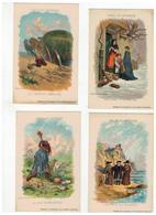 FABLES DE LAFONTAINE D'après Gustave Doré  4 Kaarten - Contes, Fables & Légendes