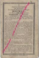 En 1886 à Watou (Belgique) Richard BOUWET élève 3e Latine Au Collège D'Ypres Fils D'Aimé Et  Victoire BLAEVOET - Décès