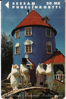 FINLAND - The Moomin House, Turun Puhelin Telecard, Tirage 9000, Exp.date 12/97, Used - Landscapes