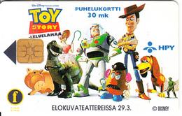 FINLAND(chip) - TOY Story, Radio City, HPY Telecard, CN : 000085, Tirage 6000, 04/96, Used - Disney