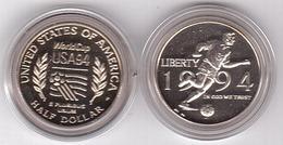 USA - 1/2 Half Dollar ( 50 Cents ) Dollars 1994 UNC Football World Cup Lemberg-Zp - United States