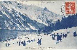 74 CHAMONIX MONT BLANC SPORTS HIVER SKIEURS CACHET FERROVIAIRE DE CHAMONIX AU FAYET Editeur WEHRLI  N° 15277 - Chamonix-Mont-Blanc