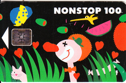 FINLAND - Clown(glossy Surface), CN : C2C140906, Chip SC5, 01/93, Used - Finland