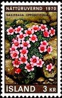 ISLANDE 1970 Yvert Et Tellier IS 400 Fleurs, Flowers  *** MNH Neufs Sans Charnière , Mint ** - Ongebruikt