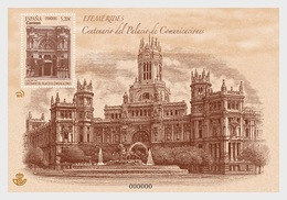 H01 Spain 2019 Centenary Of Cibeles Palace MNH ** Postfrisch - 1931-Heute: 2. Rep. - ... Juan Carlos I