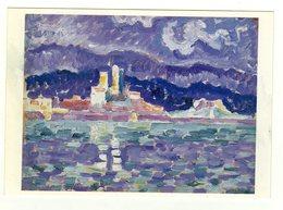 Cpm Antibes Orage Paul Signac - Peintures & Tableaux