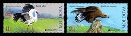 Moldova 2019 Mih. 1096/97 Europa. National Birds. Fauna. White Stork And Golden Eagle MNH ** - Moldavia