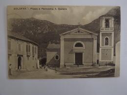 Q79 CARTOLINA   SOLOFRA AVELLINO   VIAGGIATA  1913 - Avellino