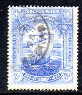APR1615 - GRENADA 1898, Yvert N. 37  Usato  (2380A) Fil CC - Grenada (...-1974)