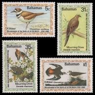 Bahamas 1985 - Mi-Nr. 590-593 ** - MNH - Vögel / Birds - Audubon - Bahamas (1973-...)