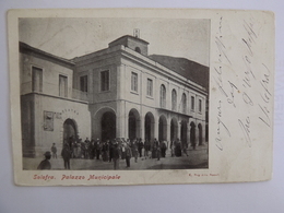 Q82 CARTOLINA   SOLOFRA AVELLINO   VIAGGIATA  1904 - Avellino