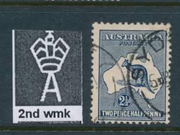 AUSTRALIA, 1915 2½d 2nd Wmk Superb Used, SG24, Cat £32++ - Used Stamps