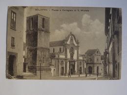 Q83 CARTOLINA   SOLOFRA AVELLINO   VIAGGIATA  1911 - Avellino