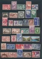 AUSTRALIA, 1954-58 Complete SG272-306 Fine Used - 1952-65 Elizabeth II : Pre-Decimale Uitgave