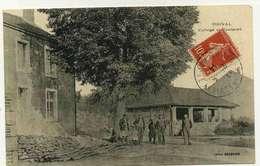 ODIVAL  Le College Et Fontaine - Autres Communes