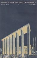 1943 SPC CARD: PRIMERA FERIA DEL LIBRO ARGENTINO, BUENOS AIRES - BLEUP - Argentine