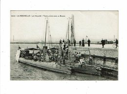 Cpa LA ROCHELLE LA PALLICE Torpilleurs Dans Le Bassin Bateau Militaires 2642 Vassellier - La Rochelle