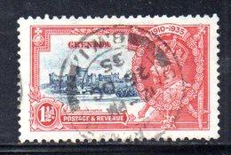 APR1616 - GRENADA 1935, Giubileo Yvert N. 117  Usato  (2380A) - Grenada (...-1974)