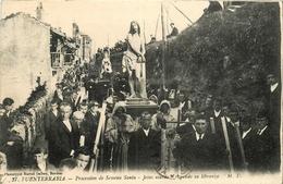 Espagne * España * Fuenterrabia * Procession De Semana Santa * Jesus Atardo Y Rogando Su Libranza - Espagne