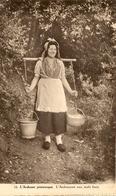 L'ardennaise Aux Oeufs Frais - Femme Avec Porte-seaux Et Panier Rempli D'oeufs - Pas Circulé - PB.L.- SUPER - Agriculture