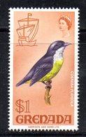 APR1618 - GRENADA 1969, 1 Doll Yvert N. 294  ***  MNH  (2380A) - Grenada (...-1974)