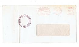 GREVE DES PTT - COURRIER DISTRIBUE PAR LA CHAMBRE DE TOURS - INDRE ET LOIRE - 1974 - Postmark Collection (Covers)