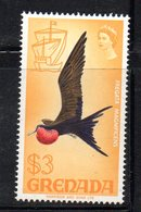 APR1620 - GRENADA 1969, 3 Doll Yvert N. 296  ***  MNH  (2380A) - Grenada (...-1974)
