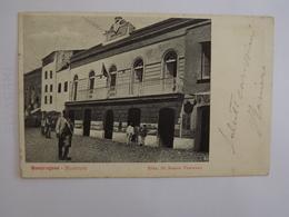 Q88 CARTOLINA  MONDRAGONE  CASERTA    VIAGGIATA  1904 - Caserta