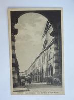 Q96 CARTOLINA AVERSA  CASERTA    VIAGGIATA 1934 - Caserta