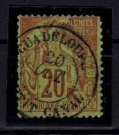 SELLO COLONIA FRANCESA ISLA DE GUADALUPE CON CERTIFICADO 275€ VER MATASELLOS TRÈS BEAU!!! - France (ex-colonies & Protectorats)