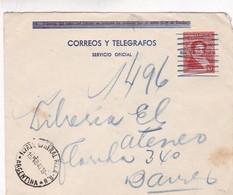 1940 STATIONERY ENTIER COVER SIN VALOR POSTAL- CIRCULEE FUERTE GENERAL ROCA A BUENOS AIRES - BLEUP - Entiers Postaux