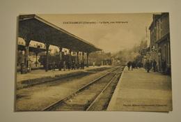 16 Charente Chateauneuf La Gare Vue Interieure - Chateauneuf Sur Charente