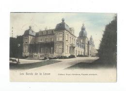 Houyet - Château Royal D'Ardenne - Façade Principale Colorisée - Nels Série 8 N° 24 - Circulé 1902 - Houyet