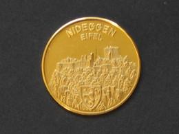 Médaille Allemande En Or -GOLD - NIDEGGEN EIFEL- **** EN ACHAT IMMEDIAT **** - Professionnels/De Société
