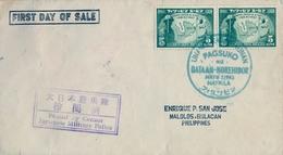 "1943 FILIPINAS / PHILIPPINES , MANILA - CENSURA POLICIA MILITAR , "" PASSED BY CENSOR JAPANESE MILITARY POLICE "" - Filipinas"