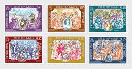 H01 Isle Of Man 2019 Colin McCahon 1919-1987 Set MNH Postfrisch - Man (Ile De)