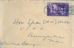 1935 FILIPINAS / PHILIPPINES , SOBRE CIRCULADO , MANILA - CONGRESO INTERNACIONAL DE HOMBRES DE NEGOCIOS FILIPINOS - Filipinas