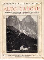 1920 N°181 - Le Cento Città D'Italia Illustrate Alto Cadore - Comelico Auronzano Oltrepiave.A - Non Classificati