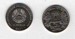 Transnistria - 3 Rubles 2018 UNC 445 Years Old With Chobruchi  Lemberg-Zp - Moldavie