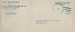 1946 FILIPINAS / PHILIPPINES , SOBRE CIRCULADO , NAVY DEPARTMENT / OFFICIAL BUSINESS , EAST GREENWICH - Filipinas