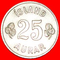 + GREAT BRITAIN BIRCH (1946-1967): ICELAND ★ 25 ORE 1960! LOW START ★ NO RESERVE! - Islandia