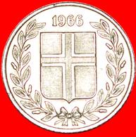 + GREAT BRITAIN BIRCH (1946-1967): ICELAND ★ 25 ORE 1966! LOW START ★ NO RESERVE! - Islandia
