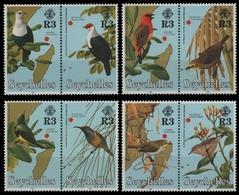 Seychellen 1996 - Mi-Nr. 809-816 ** - MNH - Vögel / Birds - Seychellen (1976-...)