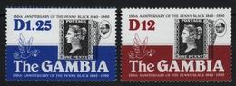 Gambia 1990 - Mi-Nr. 1031-1032 ** - MNH - Penny Black - Gambia (1965-...)