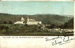 Indien - Palitana - The Foot Of The Shatrunjaya Hills INDIA  INDIEN - India
