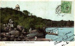 Indien - TOMBS AT GOLCONDA HYDERABAD INDIA  INDIEN - India