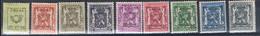 538/46  XX  MNH  POSTGAAF - Typo Precancels 1936-51 (Small Seal Of The State)